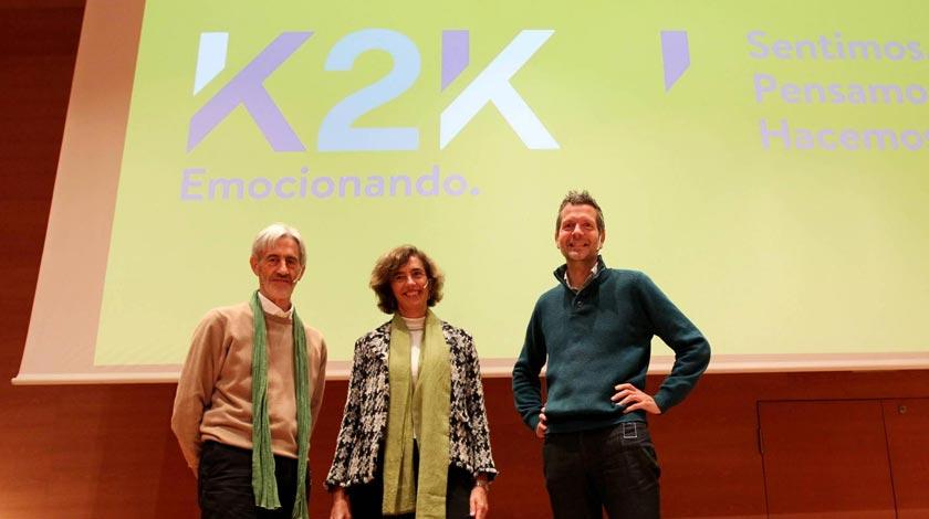 Frederic Laloux, Koldo Saratxaga, Ana Moreno